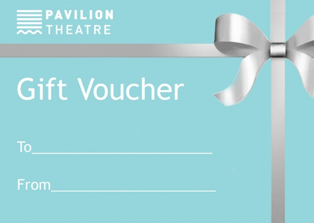 An image of Pavilion Theatre's gift vouchers