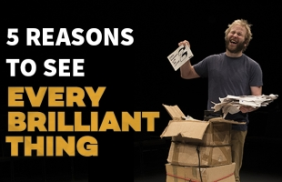 5 Reasons to See Every Brilliant Thing