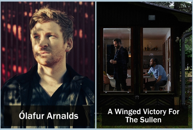 Two incredible shows this February - A Winged Victory for the Sullen & Ólafur Arnalds
