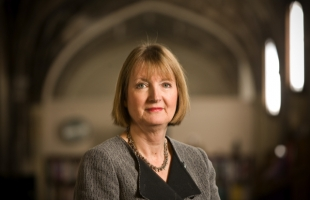 Harriet Harman in conversation with Rachael English