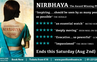 Reviews & Audience Reactions to Nirbhaya the play at Pavilion Theatre, Dún Laoghaire