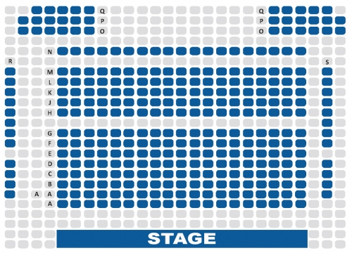 pavilion theatre seating plan