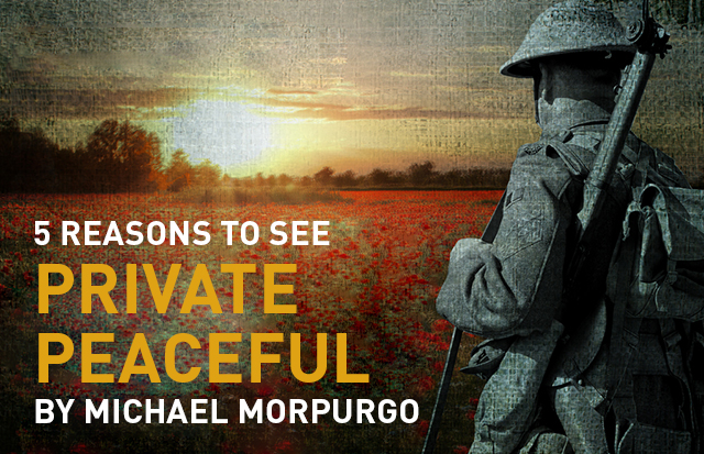 5 Reasons to See Private Peaceful by Michael Morpurgo