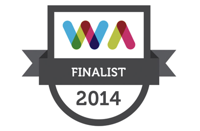 Finalist - Best Arts Website - Web Awards 2014