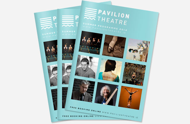 Pavilion Theatre summer 2014 programme now on sale