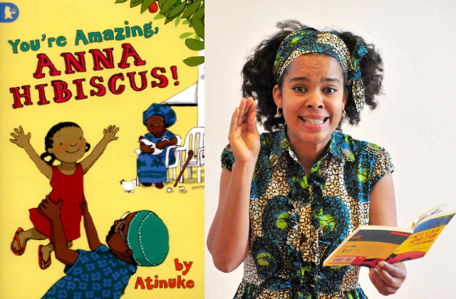 You're Amazing Anna Hibiscus: Meet Atinuke Akinyemi - Schools Event